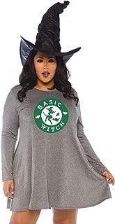 Women's Casual Halloween Costume Jersey Shirt Dress