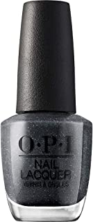 OPI Nail Lacquer Lucerne-Tainly, Metallic Grey, 15 ml