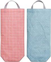 SAYGOGO Oxford Bag Holder, Hanging Folding Storage Bag, Environmental Garbage Bag Storage Bag, Garbage Bag Holder, Trash B...
