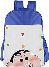 School Backpack Shy Crayon Shin-chan Classic Basic Bookbags Travel Outdoor Daypack For Boys Girls