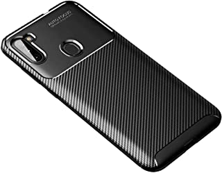 FanTing Case for LG Q92 5G, Anti-Slip Ultra Thin Shock Absorption Anti Scratch Protective, Cover for LG Q92 5G -Black