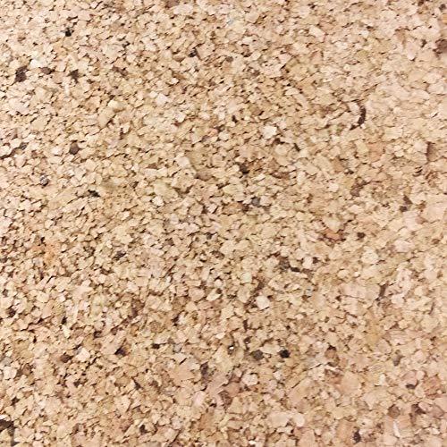 Korkplatte 100 x 50 x 1 cm (10mm Stärke) geschliffene Oberfläche, Pinnwand Kork Dämmplatte, Boden Wand Verkleidung, höheres Pressgewicht als Rollenkork