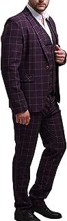 Mens Blazer Jacket Tux Vest & Trousers 3 Piece Suit