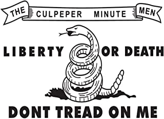 SoCal Flags Culpeper Minutemen Flag from 3x5 Foot Polyester - Durable 100d Material Not See Thru Like Other Brands Weather Resistant