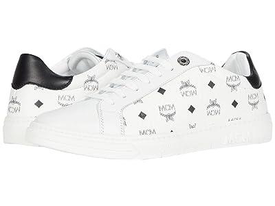 MCM Terrain Derby Sneaker (White) Women