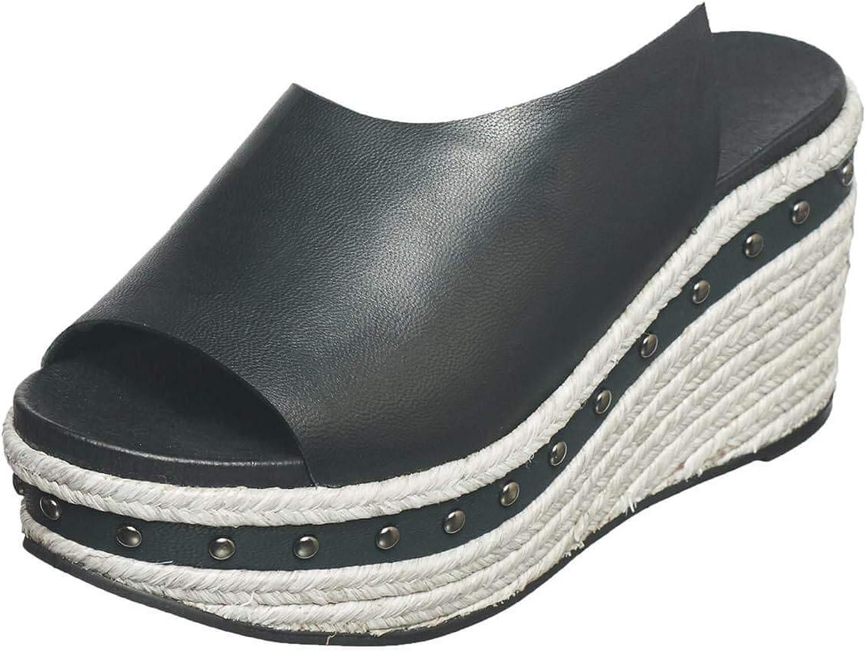 Antelope Women's 816 Leather Hi Studded Slide