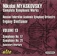 Symphonies 17 & 21 by EVGENT RUSSIAN FEDERATION ACADEMIC SYMPHONY ORCHESTRA / SVETLANOV (2008-06-10)