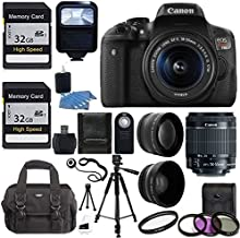 Canon EOS Rebel T6i DSLR CMOS Digital SLR Camera with EF-S 18-55mm f/3.5-5.6 is KIT