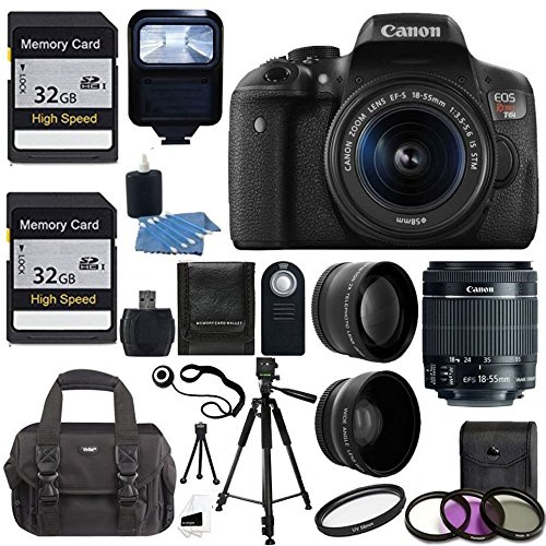 Canon EOS Rebel T6i DSLR CMOS Digital SLR Camera