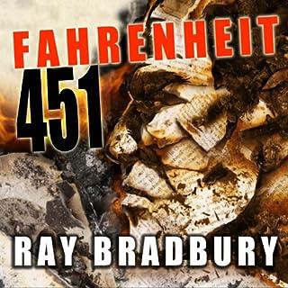 Fahrenheit 451 audiobook cover art