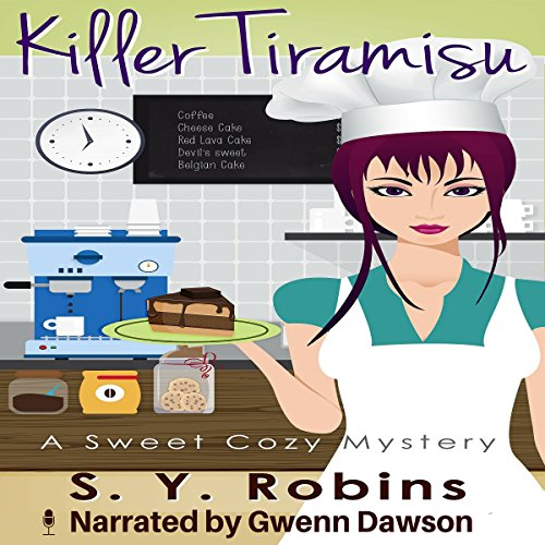 Killer Tiramisu audiobook cover art