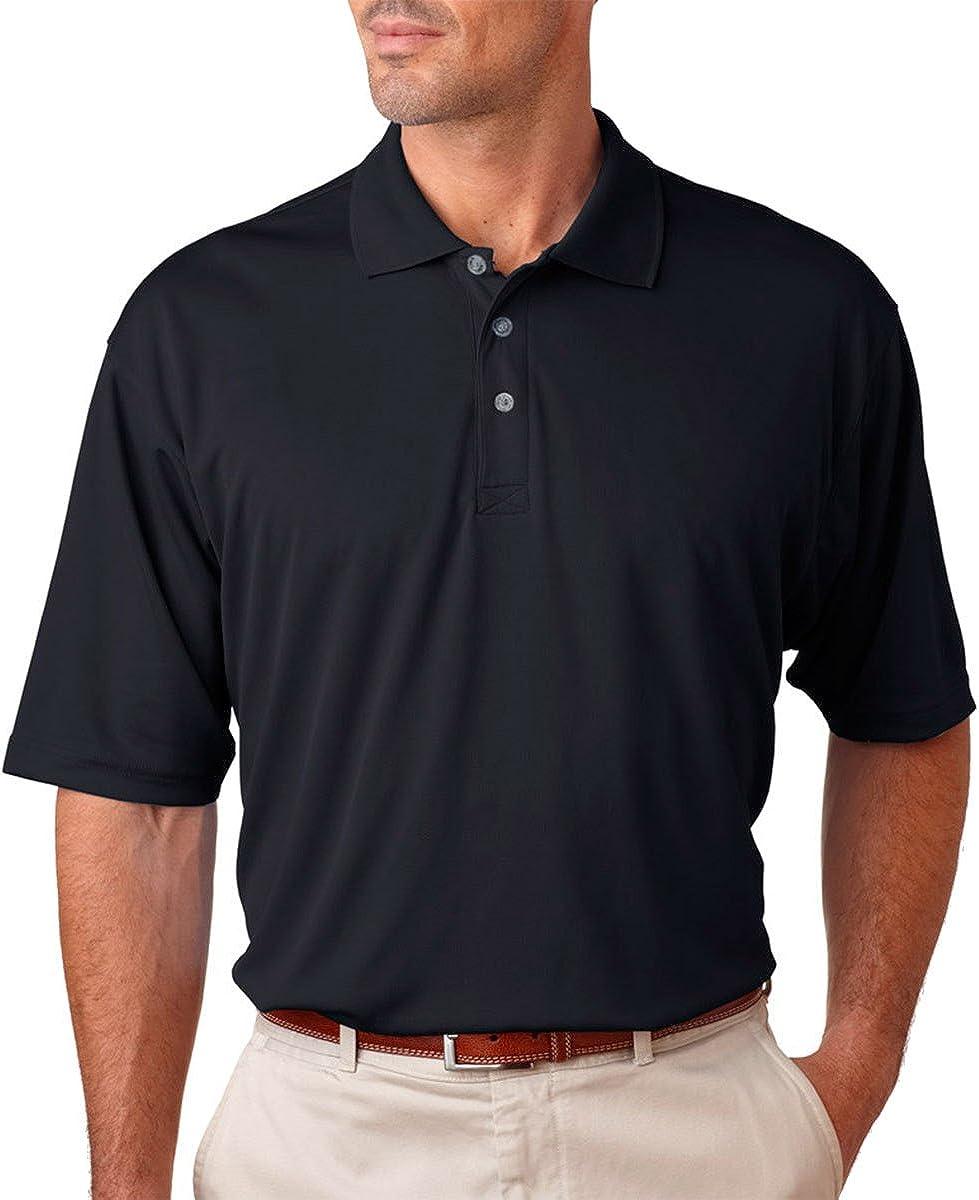 Gifts UltraClub Men's Cool Dry Mesh Shirt Black Washington Mall Sport Polo XX-Larg