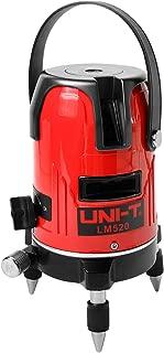 UNI-T LM520 Nivel Láser Profesional con Autonivelación de 360 Grado, 2 Líneas 3 Puntos Nivelador Láser Digital Medida de Láser