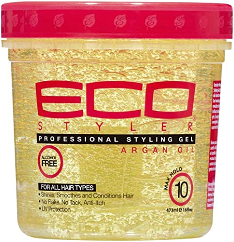 Eco Style Moroccan Argon Oil Styling Gel, 473 ml
