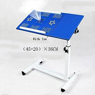 Tables HAIZHEN Pliable Support réglable de d'hôpital de Support d'ordinateur Portable de de roulement de Tableau de roulan...