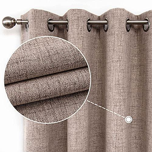 CUCRAF Full Blackout Curtains Energy Efficient with Coating Back,100%...