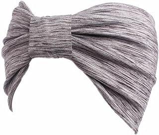 Voberry Women Soft Spandex Headwear Sport Yoga Headband Elastic Hair Band
