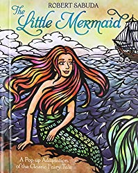 The Little Mermaid pop up book
