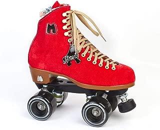 moxi suede roller skates
