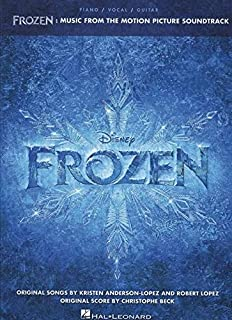 Frozen: Music from Soundtrack Motion Picture (پیانو ، آواز ، کتاب ترانه گیتار)