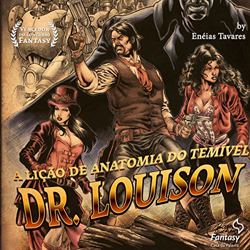 A lição de anatomia do temível Dr. Louison audiobook cover art