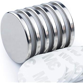 10X 10x1mm N52 Round Disc Blocks Rare Earth Neodymium Super Strong Magnet So FT