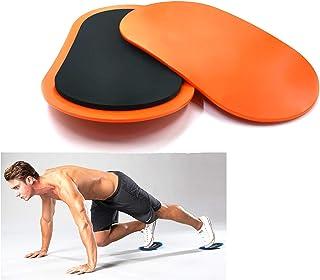 MetaBall Discos Deslizantes, 2 Core Sliders, Sliders Ejercicio de Doble Cara y Glide Discos Uso Suave en el Piso de la Alfombra y en el Gimnasio o en el hogar