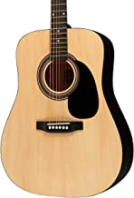 rogue ra 090 dreadnought acoustic guitar size