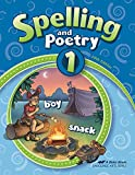 Spelling and Poetry 1 - Abeka 1st Grade 1 Spelling and Poetry Student Work Book