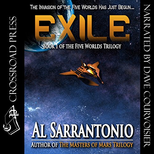 Exile audiobook cover art