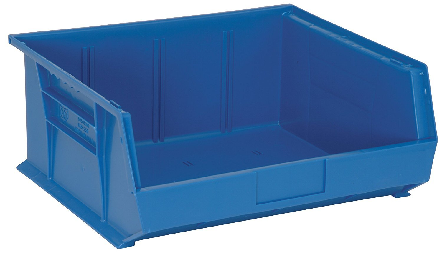 Quantum Ranking TOP4 Storage K-QUS250BL-2 2-Pack Limited time for free shipping Stack Hang Plastic Bin S and