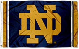 College Flags and Banners Co. Notre Dame Fighting Irish New Logo Flag