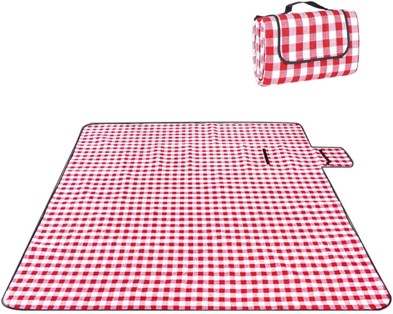 DADAO Picknickdecke Wasserdicht 200x200 Kariert, Mit Mit Mit Backingfoldable Tote Great for Picnic, Beach and Camping B07NJRKCVB  Ausgewählte Materialien 20ec61