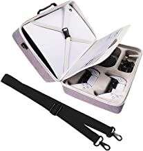 Khanka Storage Case Replacement for Sony Playstation 5 Console Standard Edition/Digital Edition (White)