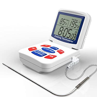 Digital Food Cooking Thermometer With Stainless...
