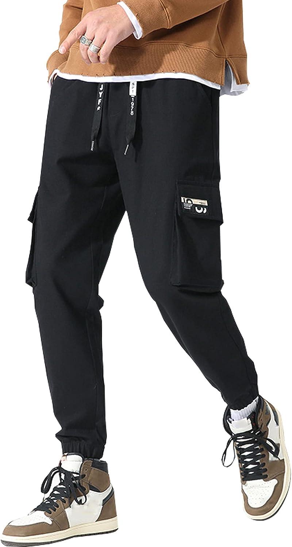 HaiZi XiHuan Drawstring technology clothing pants hip-hop street pants casual loose gothic pants overalls streetwear