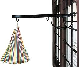 A To Z Hub Window Cradle Metal Hanger (Black)