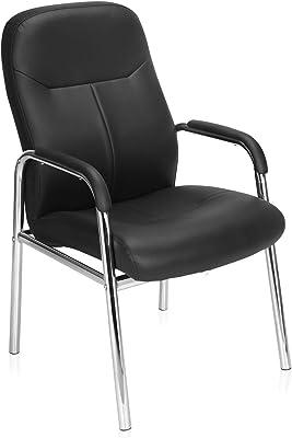 Nilkamal Kiera Visitor Chair, Black