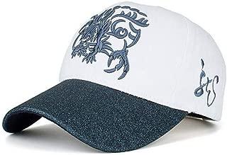 SCJ Baseball Cap Quality Cotton Dragon Baseball Cap Men and Women Cartoon Dragon Adjustable Hip Hop Snapback Hat Hat