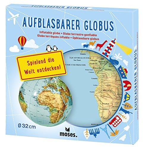 moses. Aufblasbarer Globus | Weltkarte