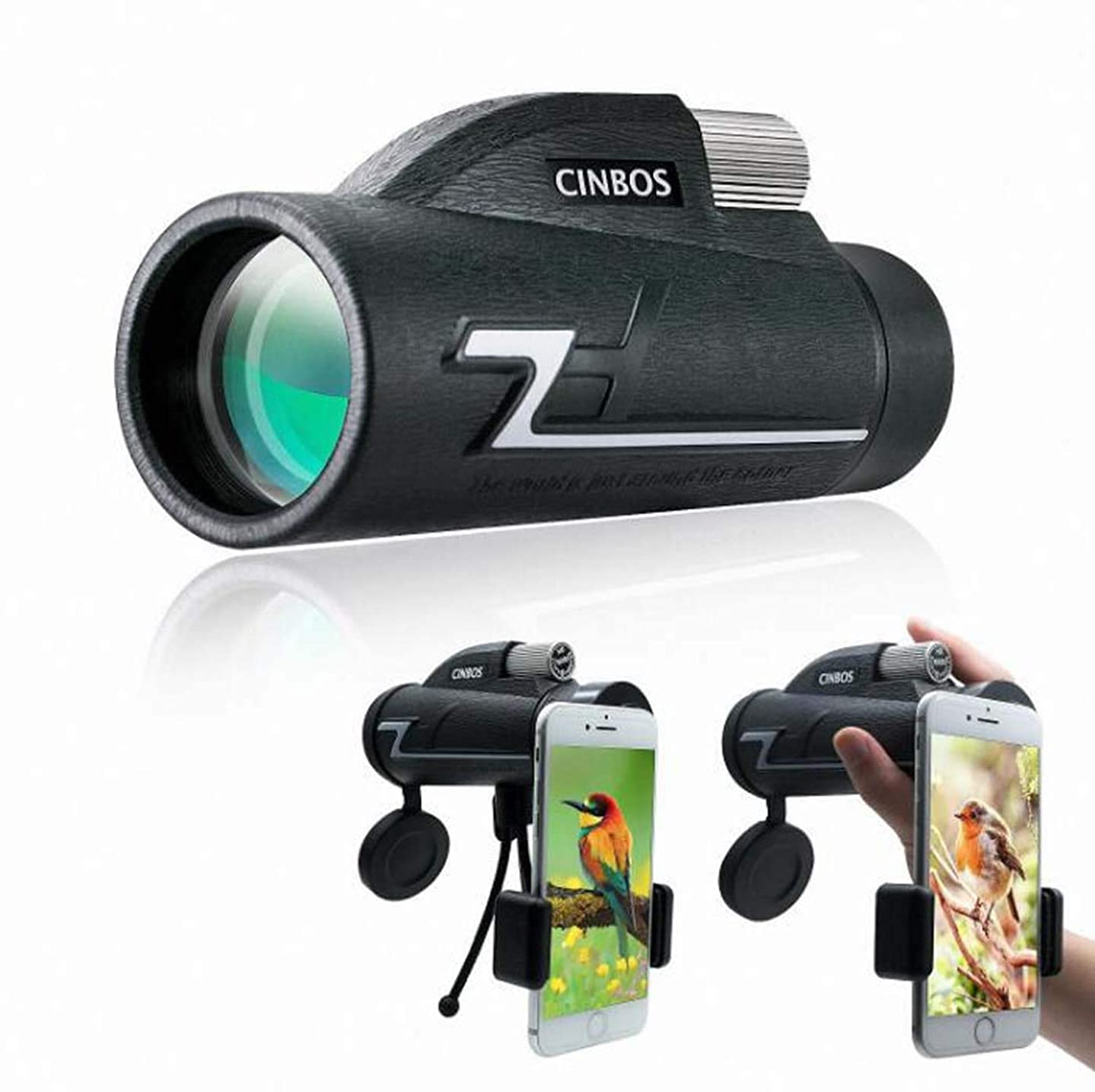 Super Zoom Monocular 16X50 Professional Powerful HD Vison,High Times Telescope Long Range for Hunting Stargazing
