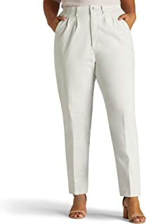 Women's Plus Size Relaxed-fit Side-Elastic Pant