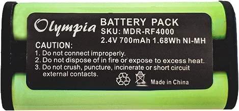 BP-HP550-11 Replacement Battery for Sony BP-HP550-11 Headphone Battery (700mAh, 2.4V, Ni-MH)