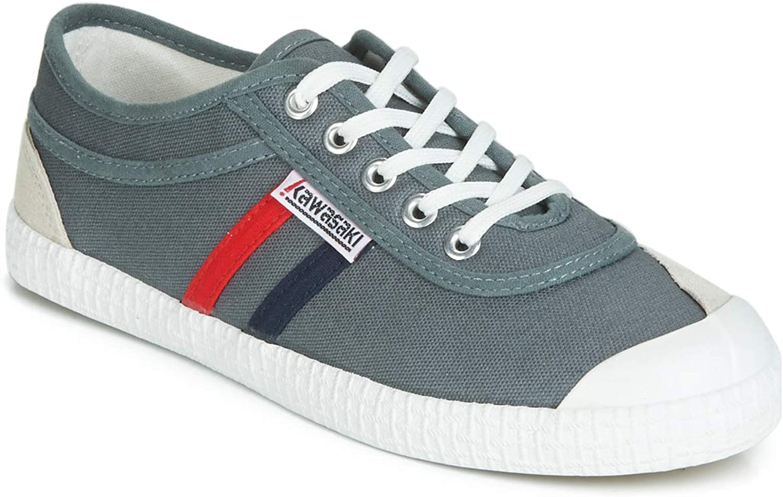d6da8e28e12 Turbulence shoes Canvas Retro Kawasaki Green Unisex Grey ...
