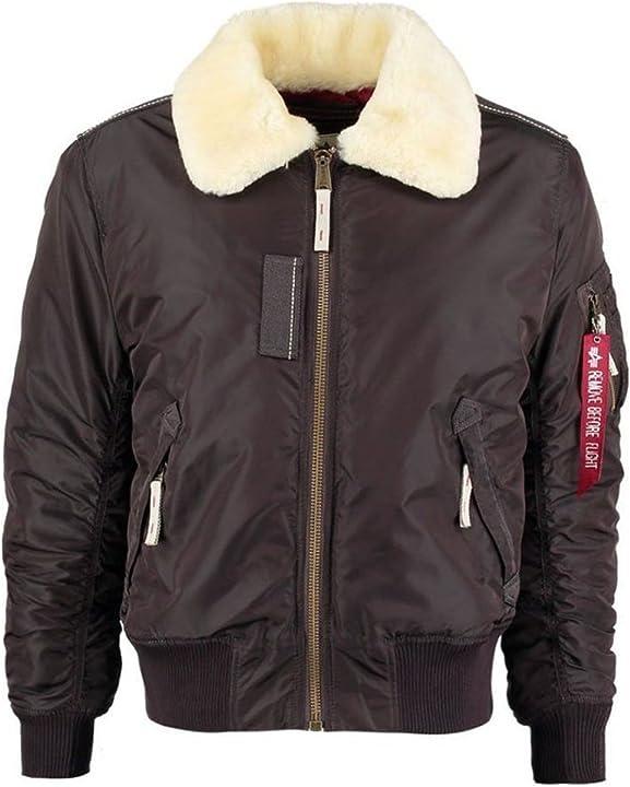 Giacca aviatore - alpha industries injector iii giacca uomo 143104