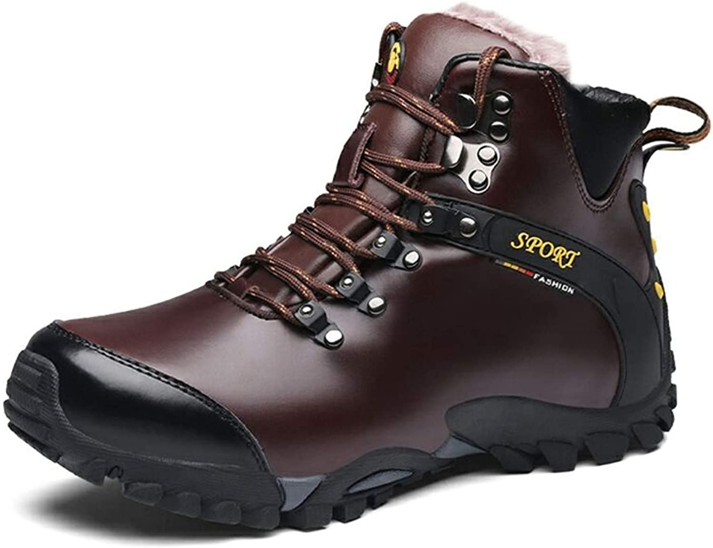män Winter läder stövlar Man Ankle Snow Snow Snow stövlar Vattentäta, varma skor Chaussure Home  fitness återförsäljare