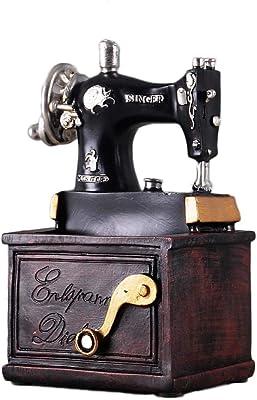 Máquina de Coser Modelo decoración Vintage Sala de Estar Vitrina ...