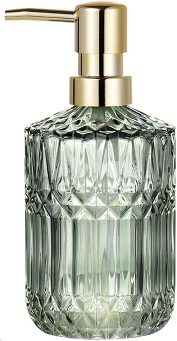 Fresno Mall JJDSN Soap Bottle Animer and price revision Nordic Style Glass Lotion Luxury Light