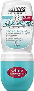 lavera Deo Roll On Basis sensitiv 24 Sensible Haut dezodorant w kulce do skóry wrażliwej, 1 opakowanie (1 x 50 ml)