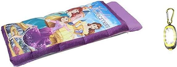 DP Princess Inflatabed EZ Bed Inflatable Mattress with Sleeping Bag & Bonus Flashlight